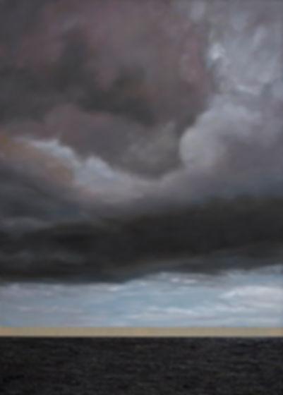 Frédéric Choisel, Elpis / Hope - 84 x 60 inches - oil on linen