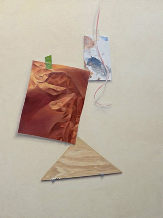 Still Life with Plywood Triangle