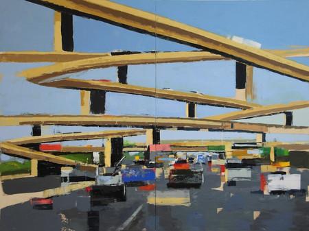 Freeway no.13 (diptych)