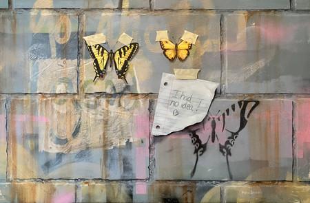 Swallowtails on Cinderblocks