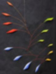 Laurent Davidson - Mobile - Jingle Jangle - aluminum and steel