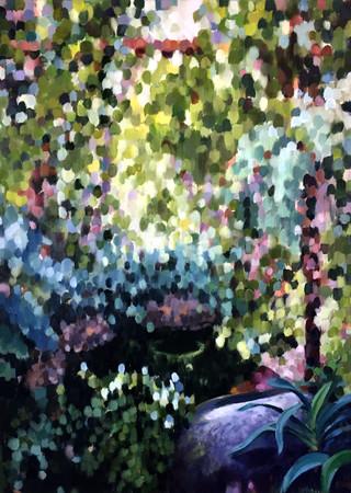 Dappled Garden II