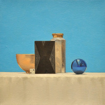 Still Life with Blue Ornament