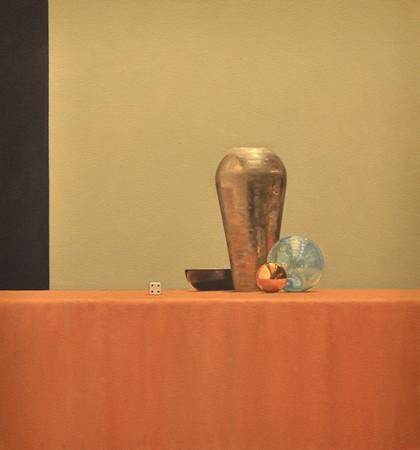 Still Life with Tall Vase