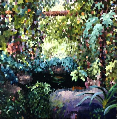 Dappled Garden I