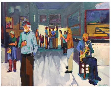 Berkeley Gallery Reception