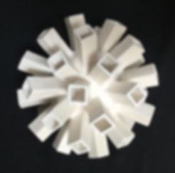 Jane B. Grimm - Razz-Ma-Tazz XI  ceramic sculpture - ceramic sculpture