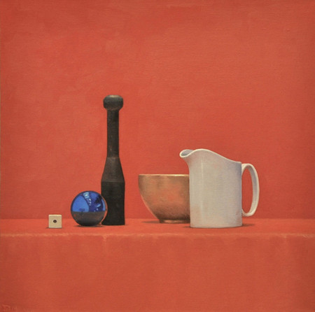 Still Life with White Pitcher