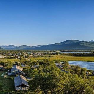 Поселок Терней в устье реки Серебрянка -
