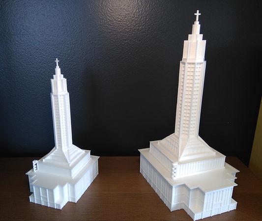 Eglise Saint joseph Le Havre 3D