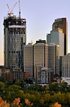 Calgary skyline - architectural noise -