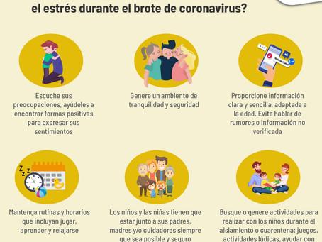 ¿Cómo ayudar a los niños a afrontar el estrés durante el Covid-19?