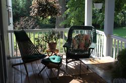 master suite front porch