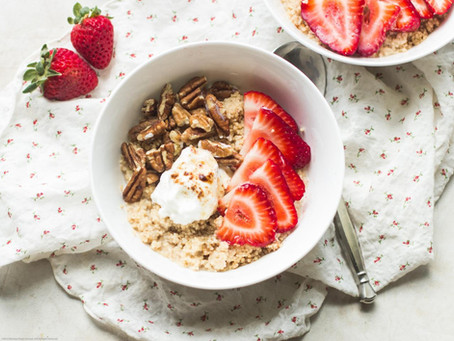 WHY IS IT IMPORTANT TO START EVERY MORNING WITH PORRIDGE?