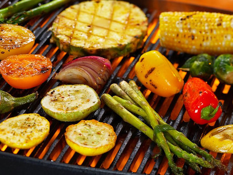 Vegetarian picnic: how useful are grilled vegetables