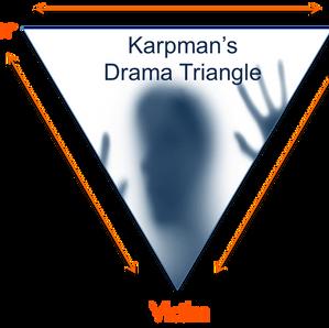 How to exit the Karpman drama triangle?