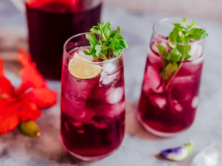 Hibiscus tea: useful properties and harm