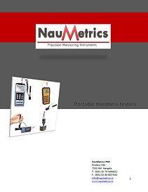 NauMetrics Portable Hardheidstester