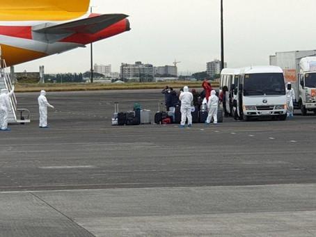 IATF-EID BRINGS HOME FILIPINOS FROM WUHAN, CHINA