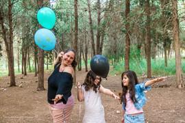 חלאקה ומשפחה ביער