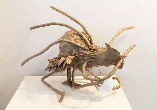 Intro to Sculpture, Cardboard Animal Pro