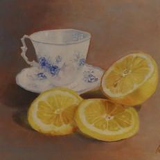 Thee met citroen...