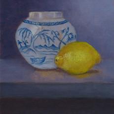 Gemberpotje met citroen