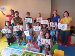 детская комната в кафе