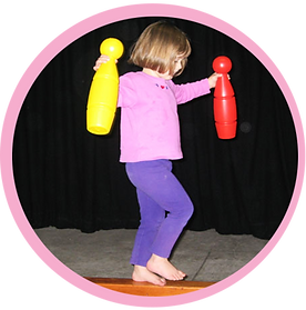 Confidenc, balance & coordination for children aged 1-8year old