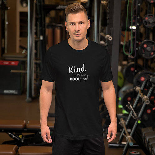 """Kind is the new Cool"" Short-Sleeve Unisex T-Shirt"