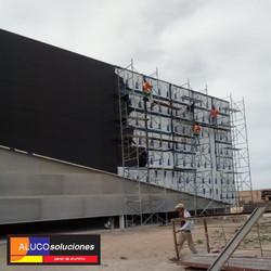 Instalación Panel de Aluminio