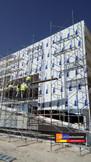 Fachada con Panel de Aluminio