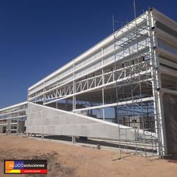 Estructura para Panel de Aluminio
