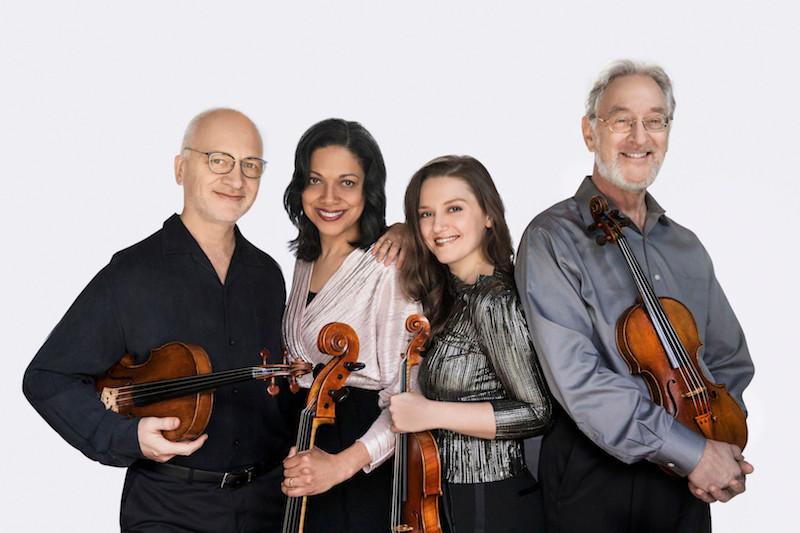 Juilliard String Quartet by Lisa-Marie Mazzucco