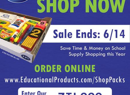 Order School Supplies Online!