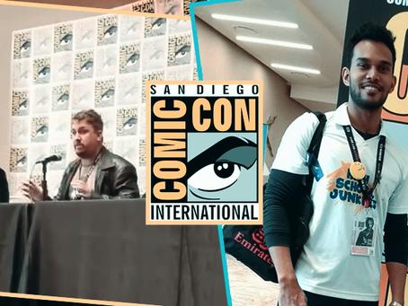 HSJ at San Diego Comic-Con 2017