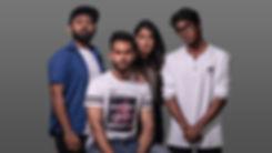 Akash Sunethkumara, Kasun Rathnasiri, Shenic Tissera and Stefania Perera. The High School Junkies