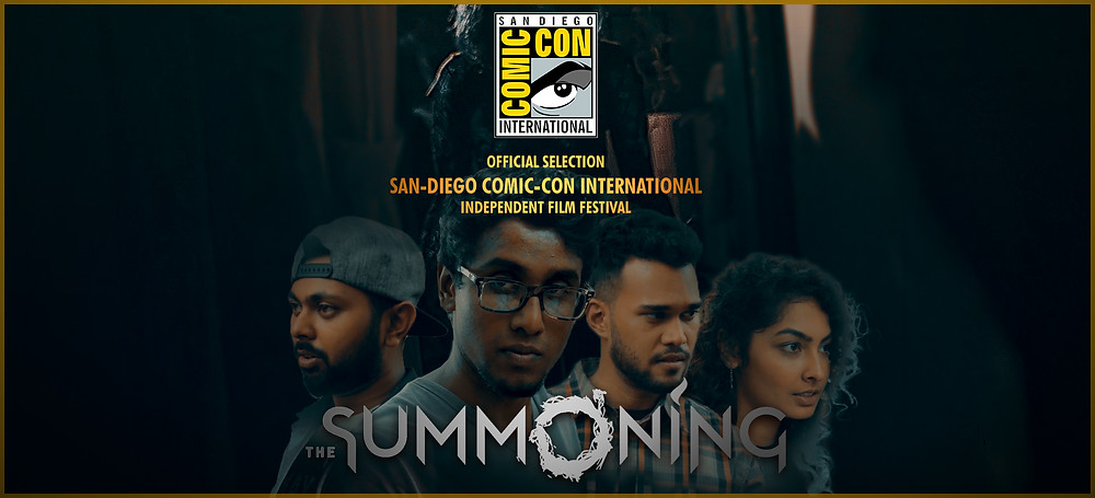 The Summoning has been selected for screening at the San Diego Comic-Con's Independent Film Festival!