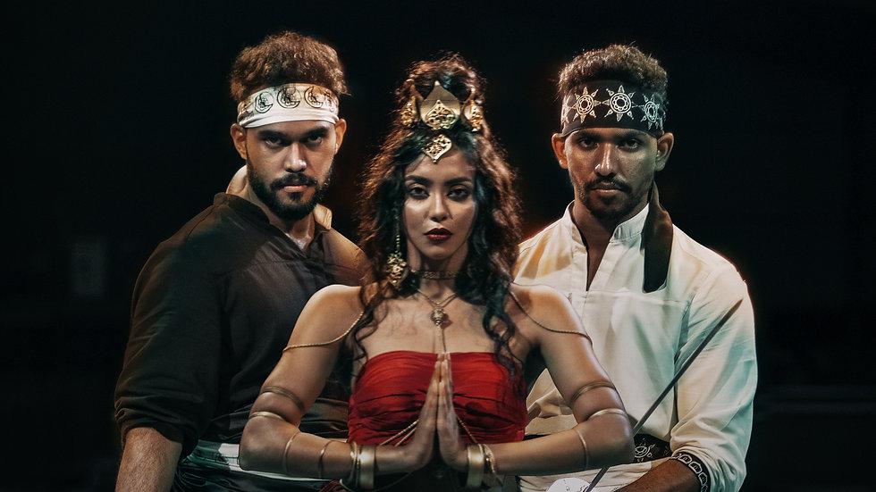 Akash Sunethkumara, Dilshan Fonseka, Romane Dananjani, The Knight Out
