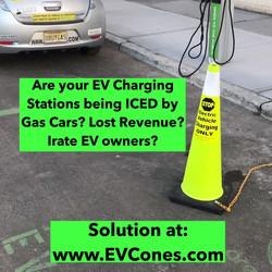 EVcone in use.