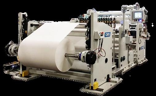 slitter rewind paper slitting converting sr5000 series cms industrial technologies