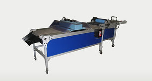 sheet fed coater conveyor cms industrial technoloiges