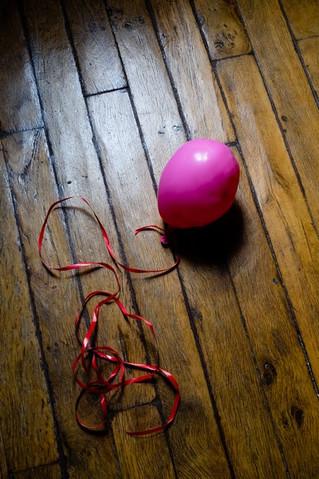 ballons en fin de vie (portraits)
