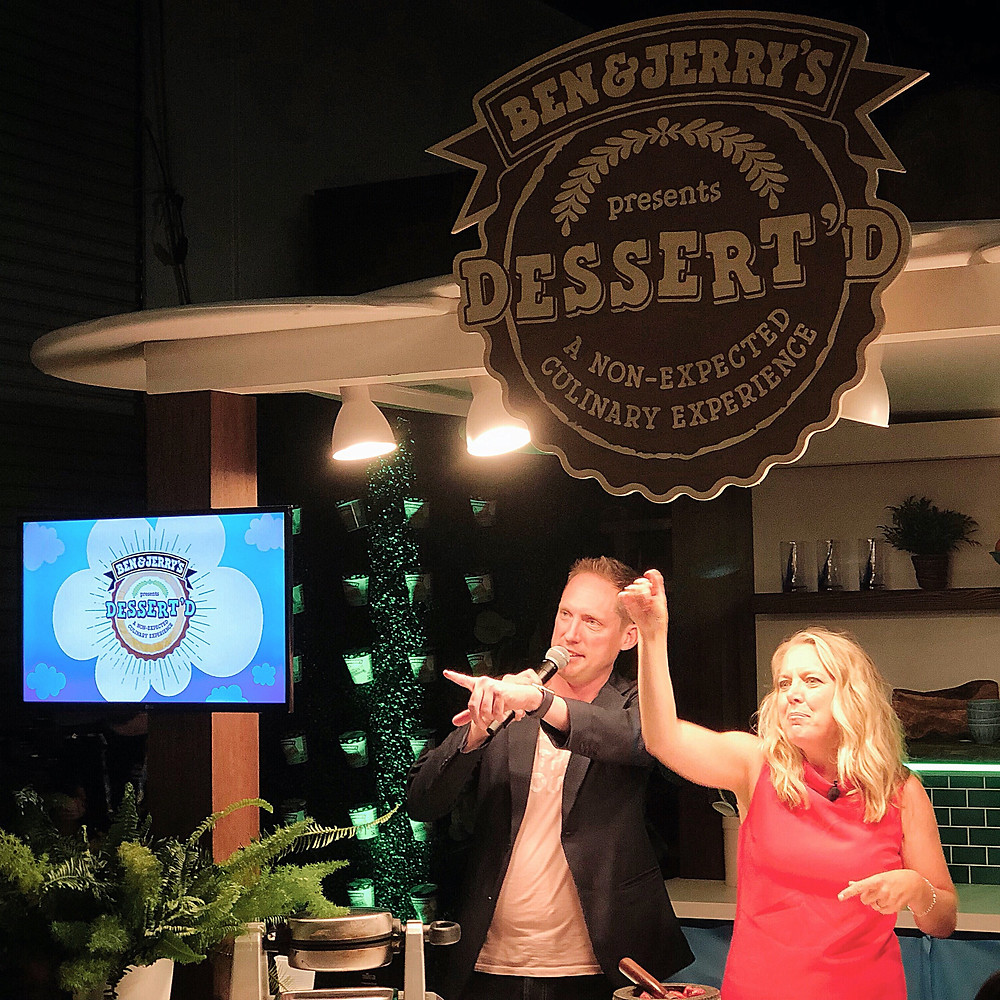 Alex Miniak Food Network Melissa D'Arabian Ben and Jerry's San Diego 32 North Brewing