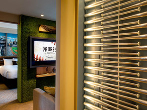 Give Me Just 30 Seconds, I'll Show You the Padres Hotel Suite