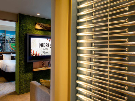 Give Me 30 Seconds, I'll Show You the Fabulous Padres Hotel Suite