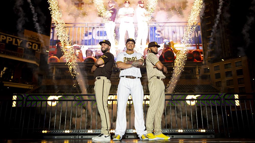 San Diego Padres Petco Park Eric Hosmer Manny Machado Fernando Tatis Jr