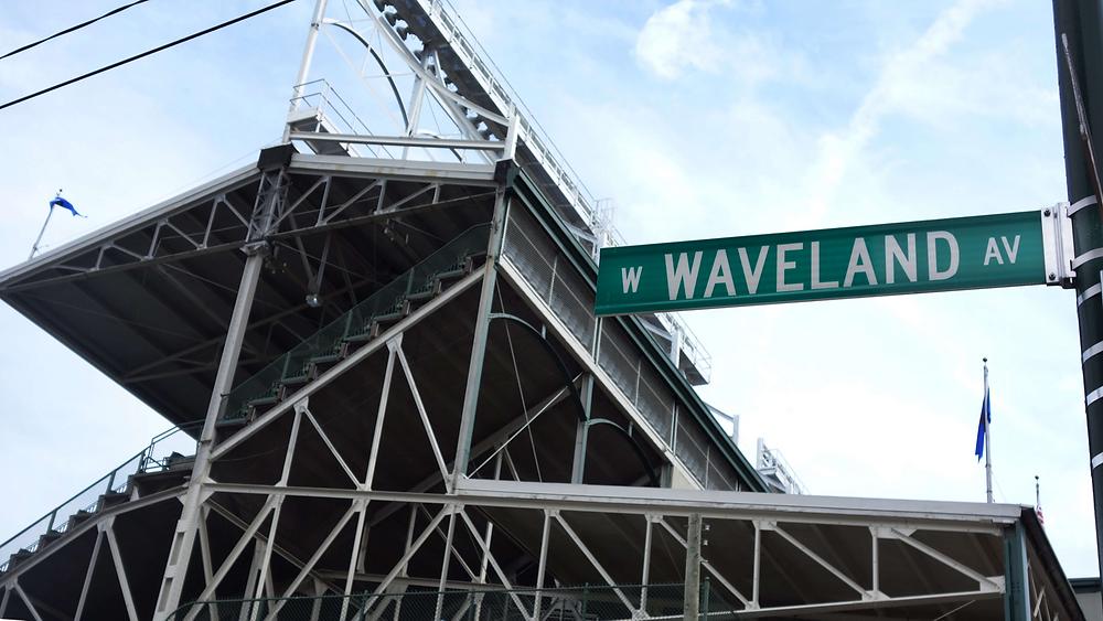 Wrigley Field Chicago Cubs Waveland Avenue