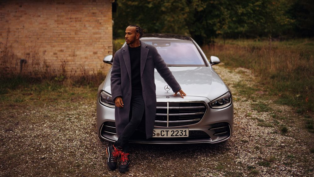 Mercedes Benz Lewis Hamilton S-Class Cares for what matters