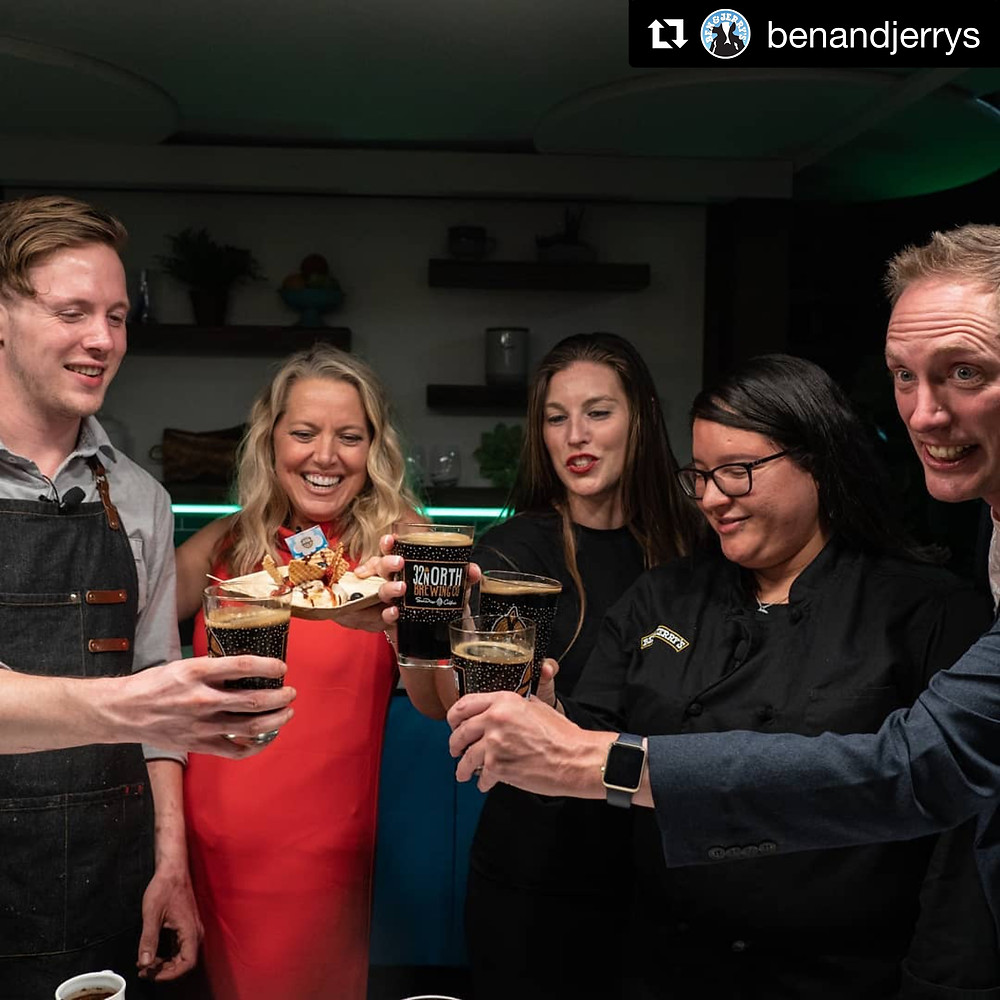 Alex Miniak Food Network Melissa D'Arabian Ben and Jerry's Instagram San Diego 32 North Brewing Desert Nachos